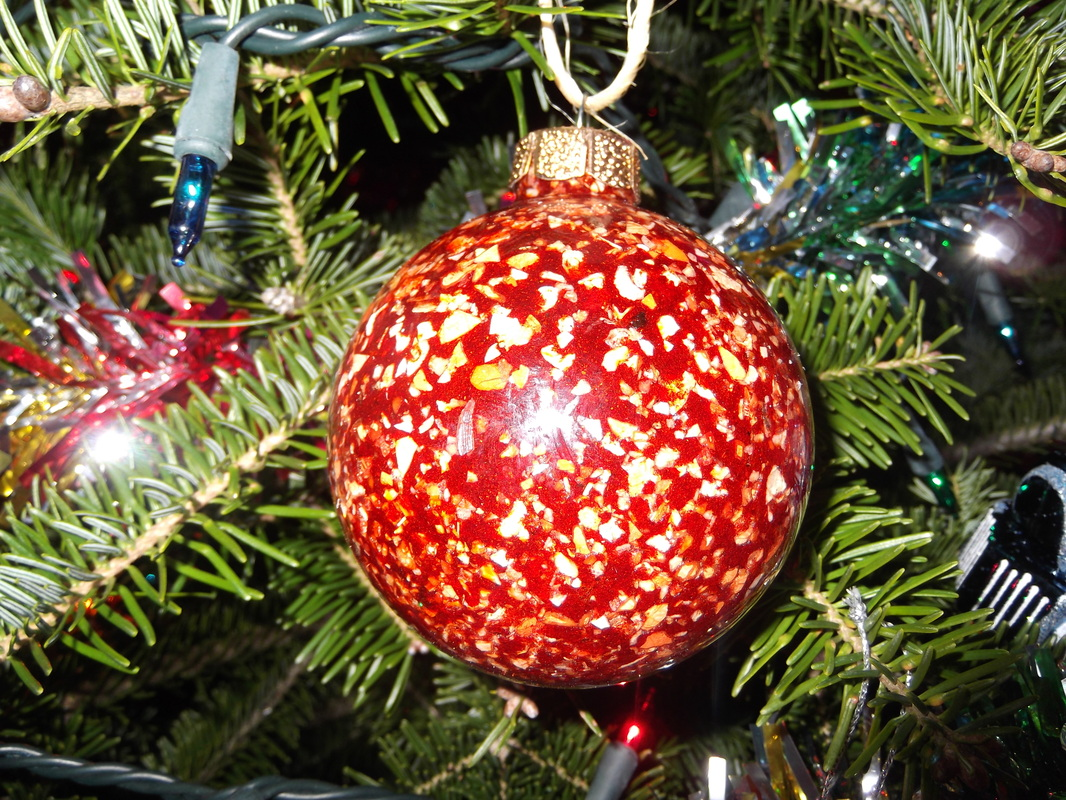 red lobster shell seasphere christmas ornament - Red Lobster Open On Christmas